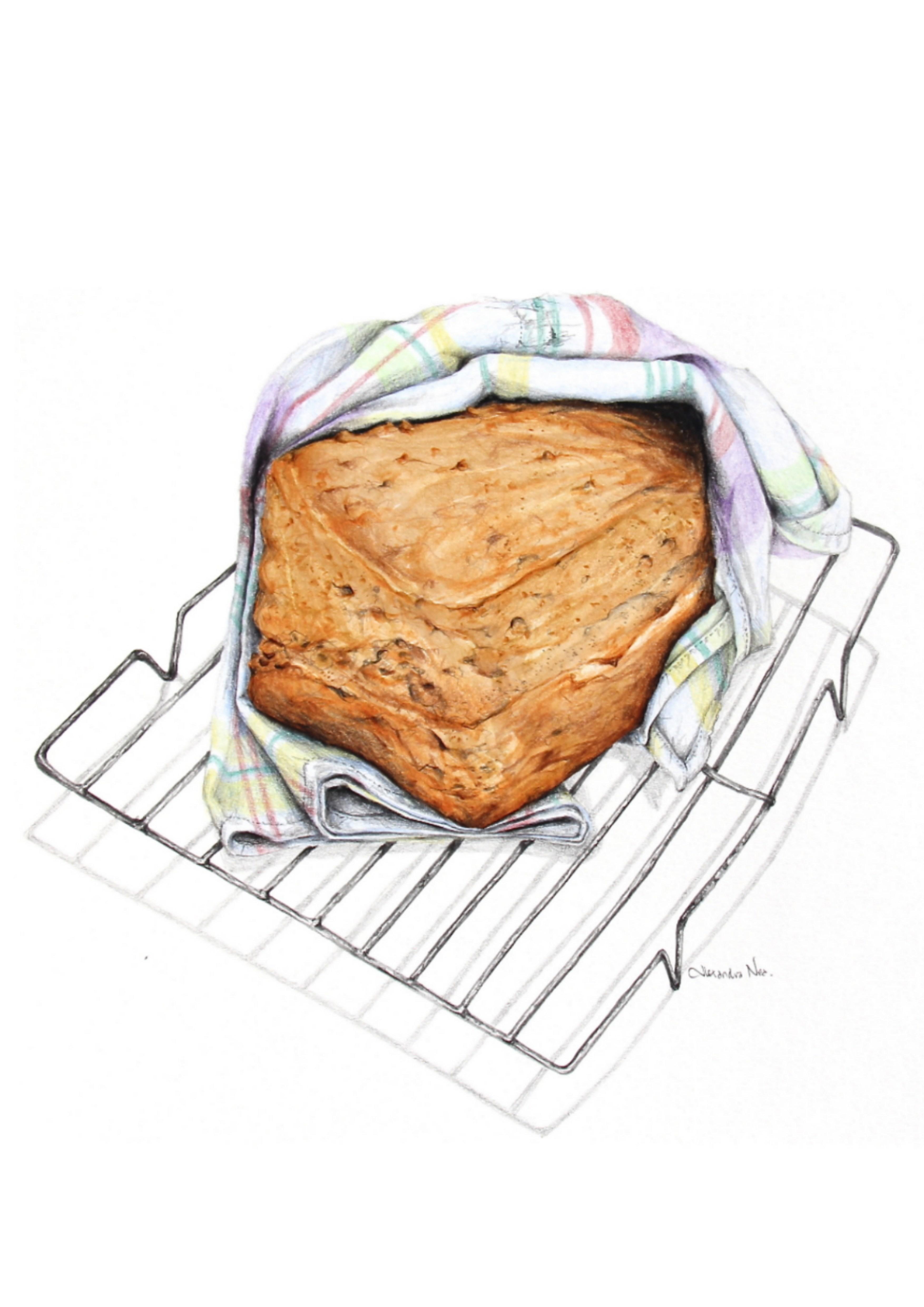 Irish Brown Soda Bread - Alexandra Nea